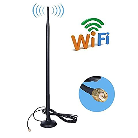 9DBi WiFi Booster SMA Antenne, 4G LTE