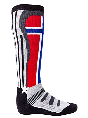 Nebulus - Chaussettes de ski thermiques Racer (W123) - Femmes - Noir - 42-43.5