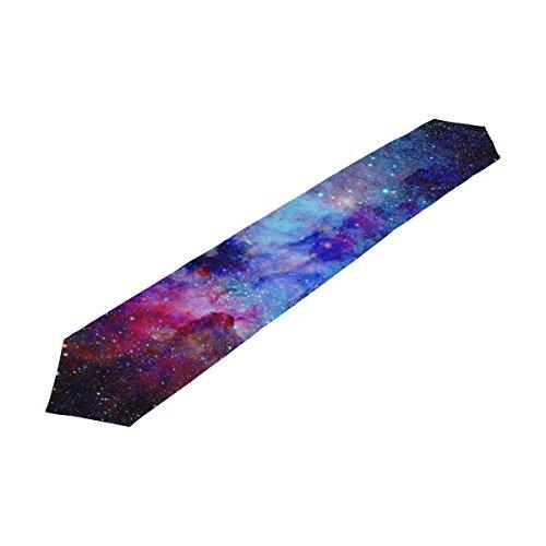 alaza Galaxy étoile colorée et nébuleuse Univers de Table 13 x 70 Pouces Table Polyester Haut Décoration Home Décor
