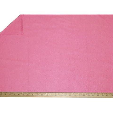 """LA Linen â""""¢ Polar Fleece by the yard 58/60-Inches Wide, Pink by LA Linen"""