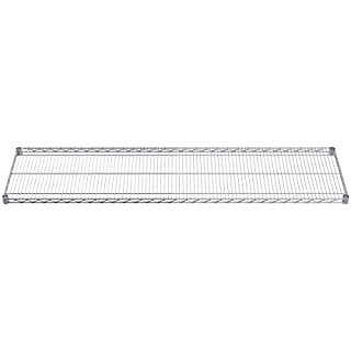 Akro-Mils AWS1872SHELF 18-Inch X 72-Inch NSF Approved Industrial Grade Chrome Wire Shelf, 2-Pack