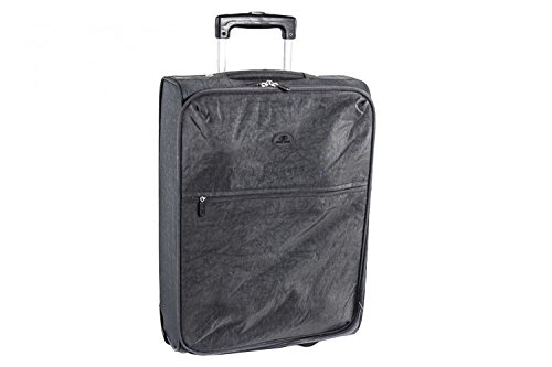 Valigia trolley semirigido SWISH JEANS grigio mini bagaglio ryanair S73