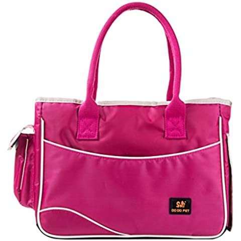 Petlovey Carrier Bag di colore della caramella per cani Fashion Dog Carrier singola spalla Bag Tote Bag