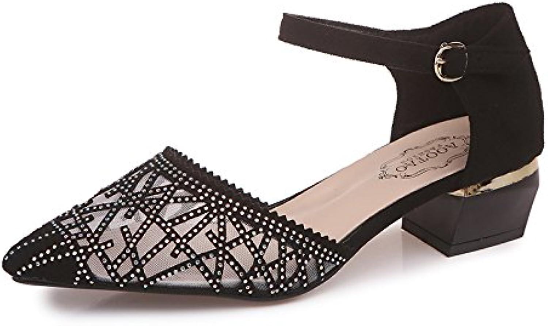 Zapatos perforadores de Agua Huecos Respirables de Mujeres Zapatos de Perforación Huecos Superiores agradables...
