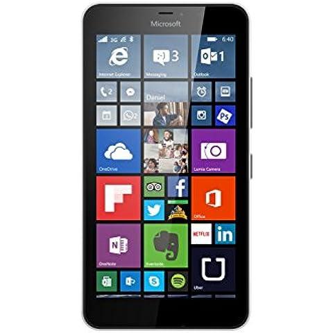 Microsoft Lumia 640 XL - Smartphone libre de 4G (pantalla: 5,7 pulgadas, 8 GB, Dual SIM, Windows Phone 8.1) blanco