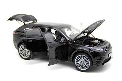 LCD Models LCD18003BL - Land Rover Range Rover Velar 2018 Black - maßstab 1/18 - Sammlungsmodell - diecast Lcd-land Rover