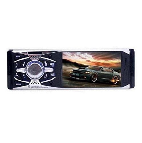 Sannysis 4 cámara de visión trasera Auto Audio FM Entrada auxiliar Receptor AUX MP5 Radio