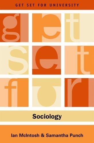 Get Set for Sociology (Get Set for University)