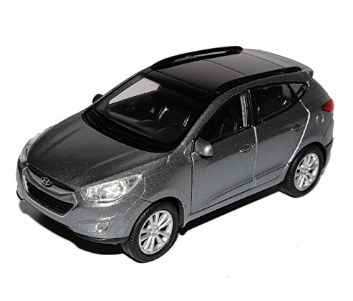 Preisvergleich Produktbild Hyundai IX35 Tucson Grau Ab 2009 ca 1/43 1/36-1/46 Welly Modell Auto