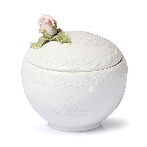 Zuckerdose HERVIT Typ Romance Porzellan Verkostung Dekor Rose Geschenk Hochzeit 8z1j1fm Dekor Porzellan