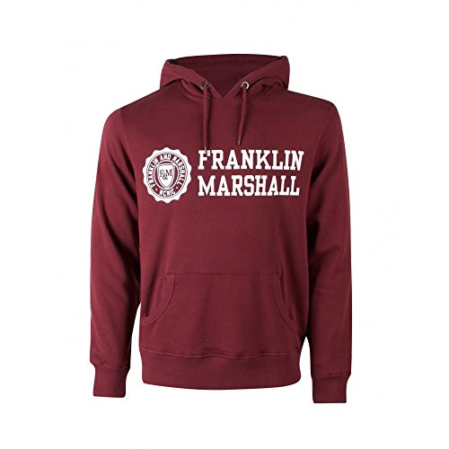 Franklin-Marshall-Fleece-Man-Hooded-Sweatshirt