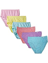 Jockey Women's Cotton Hipsters - Pack of 6