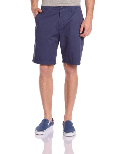 Quick Services - Minor Road Chino, Shorts da uomo blu(Indigo)