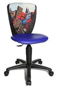 topstar chaise de bureau pour enfant motif spiderman high s 39 cool 3 si ge bleu. Black Bedroom Furniture Sets. Home Design Ideas