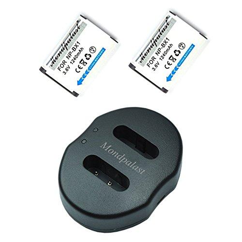 Mondpalast @ 2x Reemplazo Baterías NP-BX1 NPBX1 npbx1