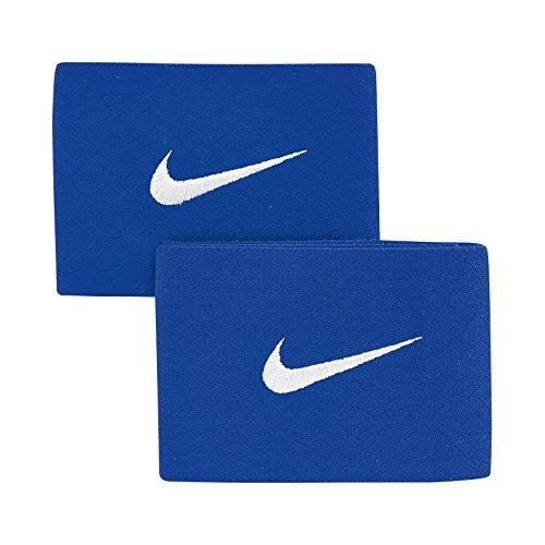 Nike Guard Stay - Banda sujeta espinillera, color azul, talla única