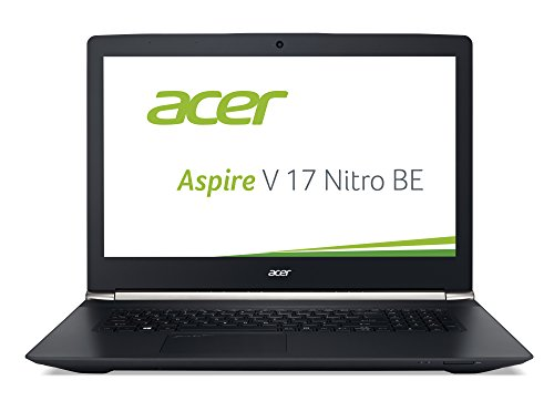 Acer Aspire V 17 Nitro Black Editon (VN7-792G-726L) 43,9 cm (17,3 Zoll Ultra HD IPS) Laptop (Intel Core i7-6700HQ, 16GB DDR4-RAM, 1TB HDD, 256GB SSD, NVIDIA GeForce GTX 960M, Win 10 Home) schwarz Acer 17 Tft-monitor