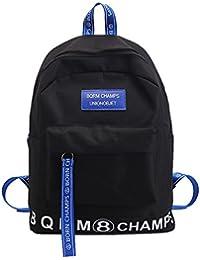 Preisvergleich für Große Kapazität Bänder dual Umhängetaschen Schultaschen der Schülerinnen und Schüler, doppelklicken Schultertasche