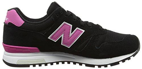 New Balance 565, Chaussures de Running Entrainement Femme Multicolore (Black 001)
