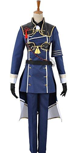 touken RANBU nakigitsune copslay Kostüm Gr. Männlich S, as (Nakigitsune Kostüm)