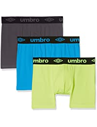 Umbro Packx3, Bóxer para Hombre (Pack de 3)