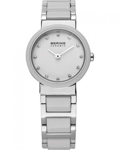 Montre Pour Femme Bracelet Céramique Blanche Et Acier Bering 10725_754