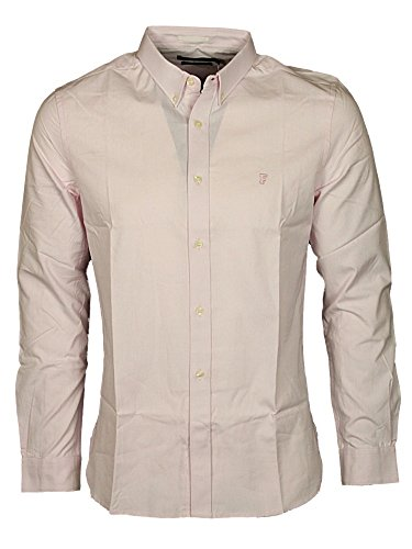 French Connection Summer Soft Oxford Reg, Camicia Uomo Sure Pink