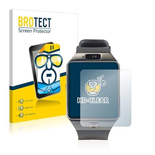 2X BROTECT HD Clear Bildschirmschutz Schutzfolie für Simvalley Mobile PX-4057 (kristallklar, extrem Kratzfest, schmutzabweisend)
