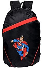 Spider Man Printed 'Laptop Bag & Backpack' (Black) By LAPAYA-RAAMA