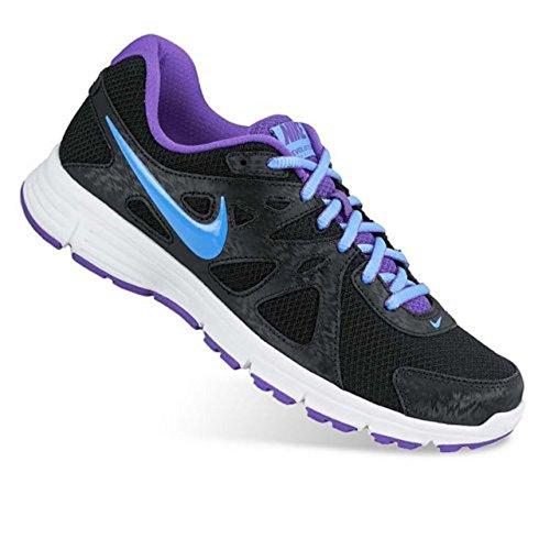 Nike Mädchen 2Revolution 2MSL Running Shoes-Multicoloured, Größe 4, Schwarz - Black - 9693 BLK/Unvrsty BL-Hypr GRP-W - Größe: 38 EU - Revolution Nike Mädchen 2