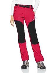 2XL Mujer Izas Frisia Pantalones Cortos para Running Negro//Fuxia