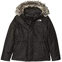 The North Face Kids TNF Plumífero Greenland, Niñas, TNF Black/TNF Black, XL