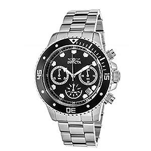 Invicta 9309 Pro Diver Reloj Unisex acero inoxidable Cuarzo Esfera negro