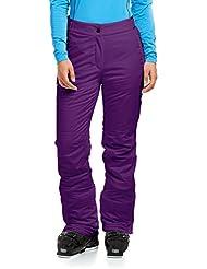 maier sports Resi 2–Pantalones de esquí, invierno, mujer, color morado - Dark Purple, tamaño 42 [DE 40]