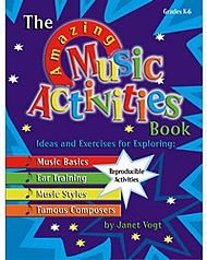 The Amazing Music Activities Book (Heritage Music Press)
