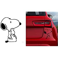 SNOOPY AUTOAUFKLEBER Auto Car Macbook pro Air Sticker Aufkleber Snoopy