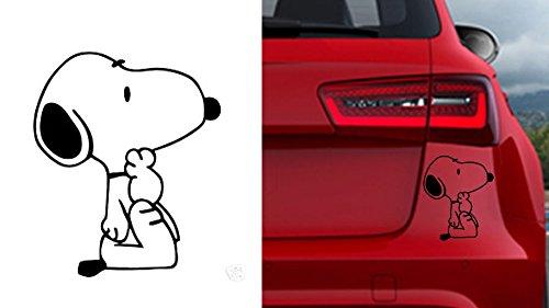 Preisvergleich Produktbild SNOOPY AUTOAUFKLEBER Auto Car Macbook pro Air Sticker Aufkleber Snoopy
