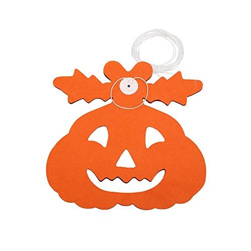 TOPmountain Furchtsam Schrecklich Halloween Kürbis Spinne Hängend Geist Papier Girlande Prop Haunted Haus Party Dekor