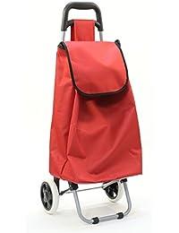 Chariot de course rouge