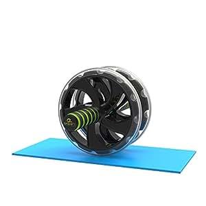 Appareil pour abdominaux gracefit roue abdominale appareil d 39 exercices de musculation pour - Tapis de musculation abdominale ...