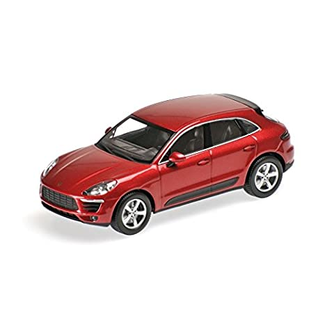 Minichamps - 410062600 - Porsche - Macan - 2013 - Échelle 1/43 - Rouge métal
