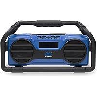 as–Schwabe Diseño de interfaz de radio, bluetooth USB SD de entrada de tarjeta, 1unidades, color azul, azul, 90750 50 wattsW, 230 voltsV