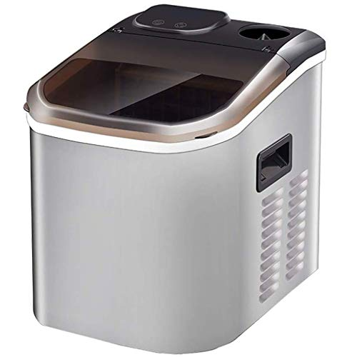 YHLZ Eismaschine Gewerbe Kleine Tea Shop Eiswürfelmaschine Home Bar Produktion Quadrat Ice Automatik Produziert 55 Lbs EIS pro 24 Stunden - Quadrat Ice Cube
