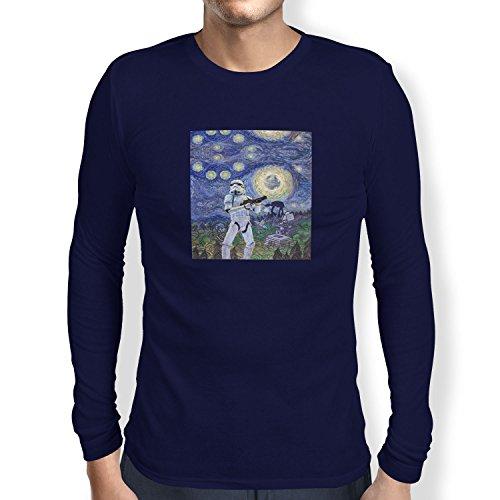 TEXLAB - Endor Nights - Herren Langarm T-Shirt Navy