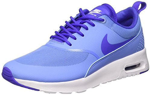 Nike Wmns Air Max Thea, Scarpe da Ginnastica Donna Blu (Chalk Blue/Prsn Violet/White)