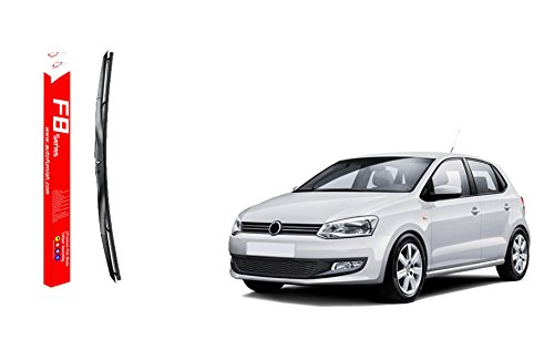 "autofurnish f8 series premium silicon wiper blades for volkswagon polo (d)24"" (p)16"" Autofurnish F8 Series Premium Silicon Wiper Blades for Volkswagon Polo (D)24″ (P)16″ 41MHnigKxEL"
