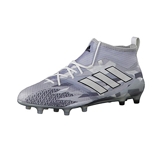 Botas Adidas Ace 17.1 Suela Fg Blancas Con Calcetín