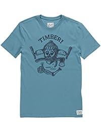 T-Shirt Element All Good Ss - Provincial Blue-Bleu