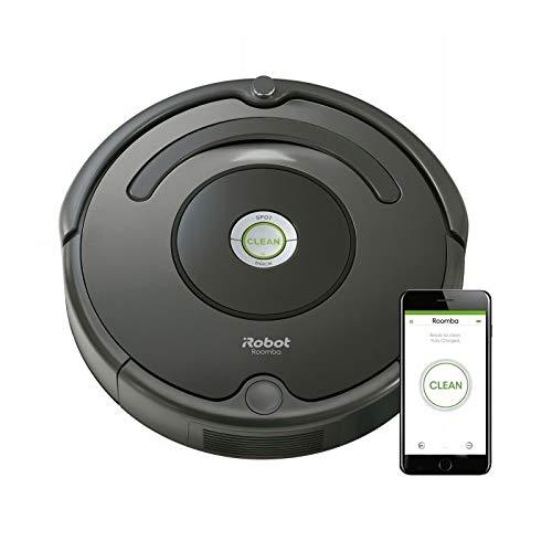iRobot Roomba 6760.6L schwarz Roboter-Staubsauger–Bodenstaubsauger Robotern (schwarz, rund,...