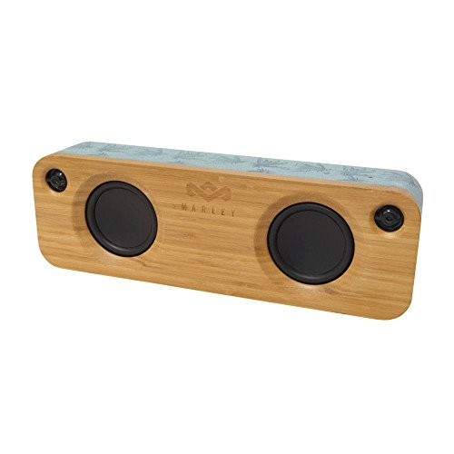 The House Of Marley Get Together Bluetooth Lautsprecher grau, Holz